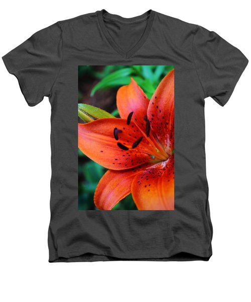 The First Lily Men's V-Neck T-Shirt