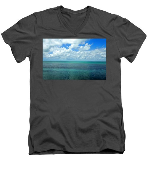 The Florida Keys Men's V-Neck T-Shirt