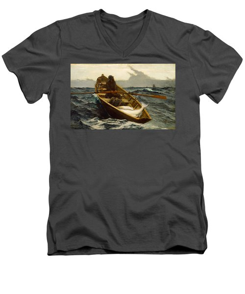 The Fog Warning Men's V-Neck T-Shirt