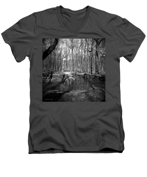 The Forest Men's V-Neck T-Shirt by Verana Stark