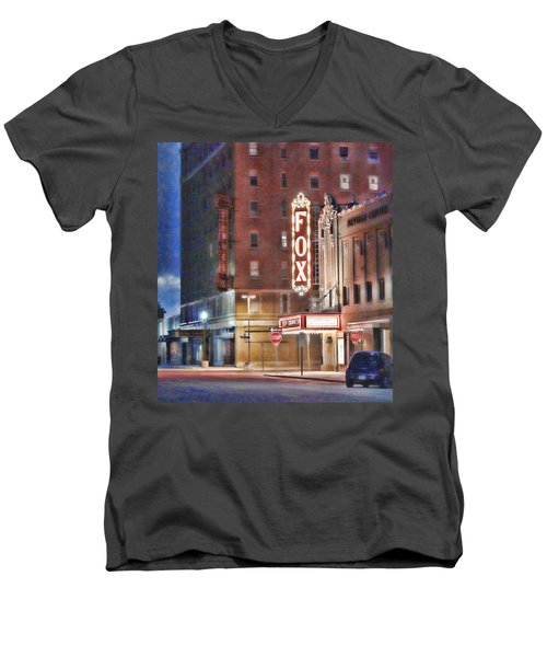 The Fox After The Show Men's V-Neck T-Shirt