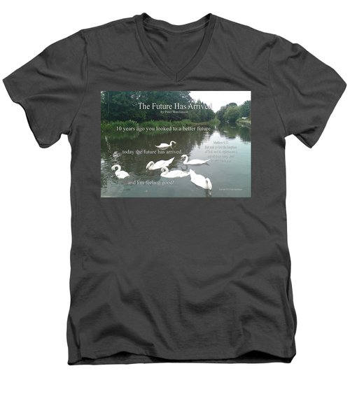 The Future Has Arrived Men's V-Neck T-Shirt