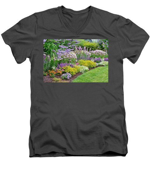 The Gardens Of Bethany Beach Men's V-Neck T-Shirt