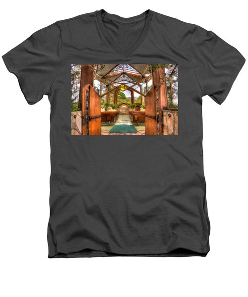 The Glass Church Men's V-Neck T-Shirt