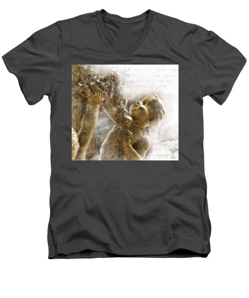 The Glory Of France Men's V-Neck T-Shirt