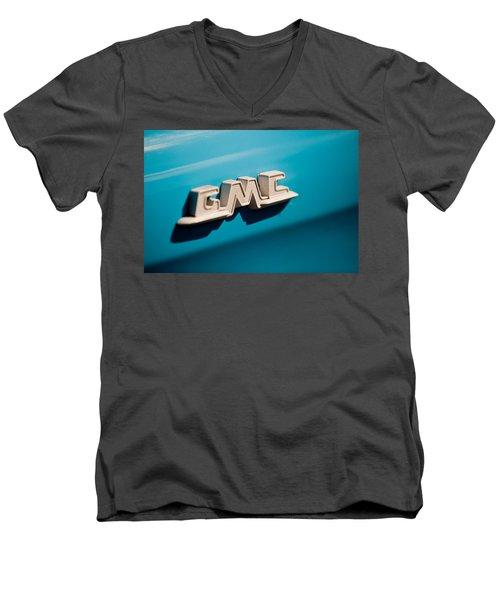 The Gmc Men's V-Neck T-Shirt by Melinda Ledsome