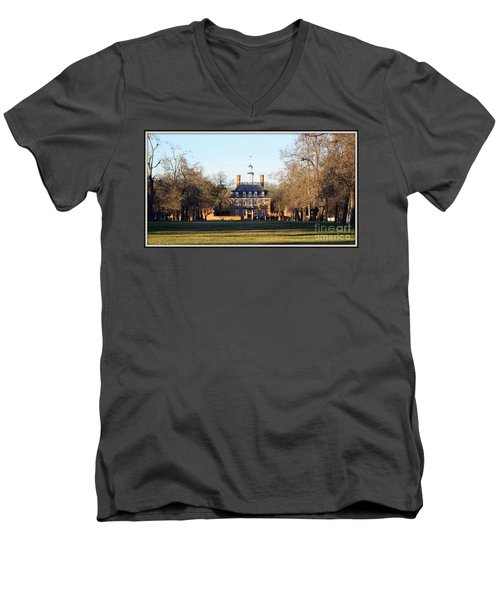 The Governor's Palace Men's V-Neck T-Shirt