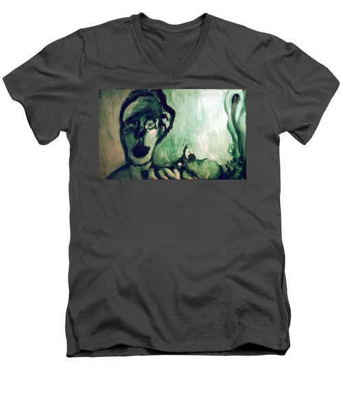 The Green Queen Men's V-Neck T-Shirt