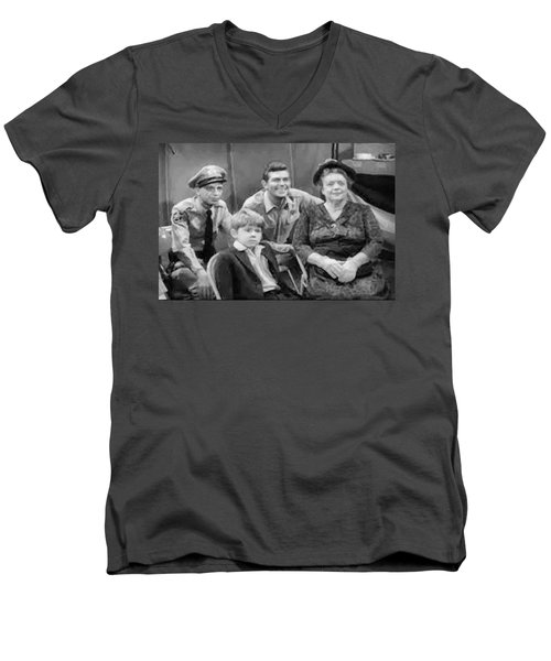 The Griffith Household Men's V-Neck T-Shirt