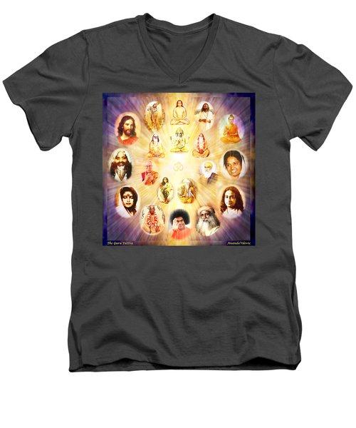 The Guru Tattva Men's V-Neck T-Shirt