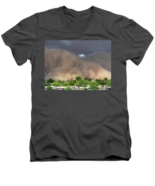 The Haboob Is Coming Men's V-Neck T-Shirt