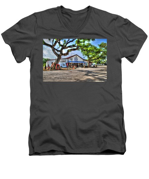 The Hardware Store Men's V-Neck T-Shirt by Michael Thomas