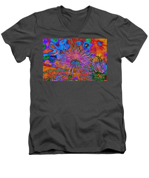 The Heart Of The Matter.. Men's V-Neck T-Shirt