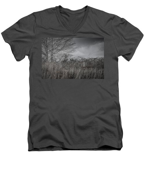 The Hidden Bench 2 Men's V-Neck T-Shirt