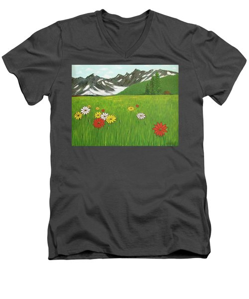 The Hills Are Alive With The Sound Of Music Men's V-Neck T-Shirt