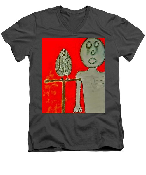 The Hollow Men 88 - Bird Men's V-Neck T-Shirt