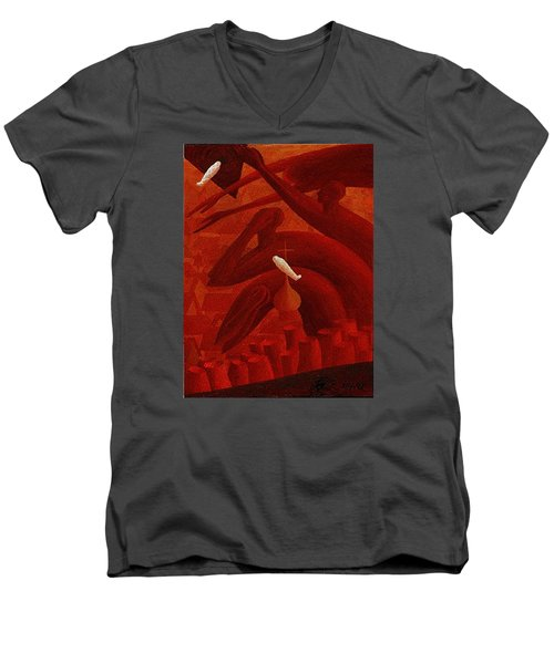 The Holocaust Men's V-Neck T-Shirt