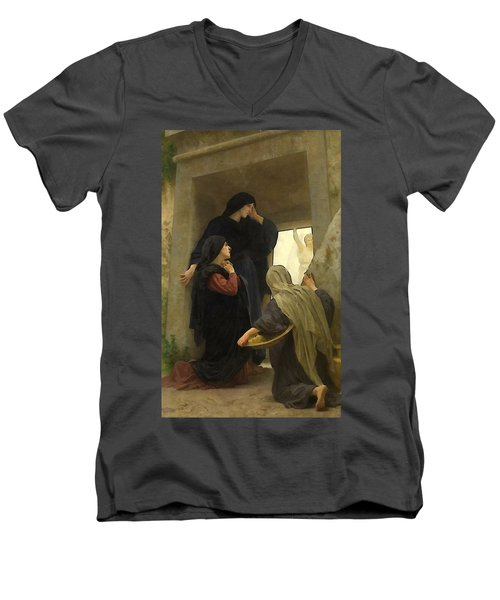The Holy Women At The Tomb Men's V-Neck T-Shirt