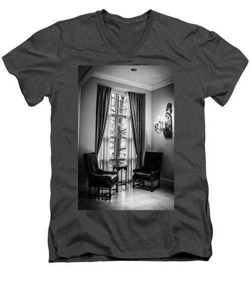 The Hotel Lobby Men's V-Neck T-Shirt