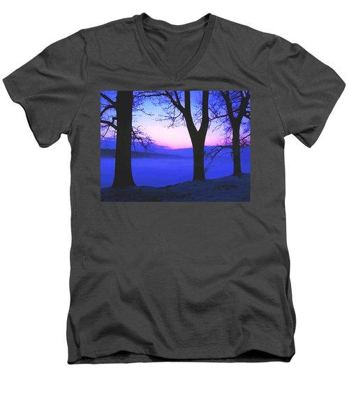 The Hush At First Light Men's V-Neck T-Shirt