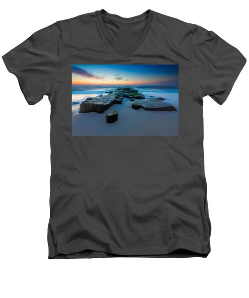 The Jetty Men's V-Neck T-Shirt