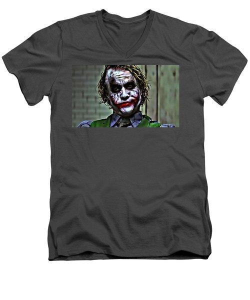 The Joker Men's V-Neck T-Shirt
