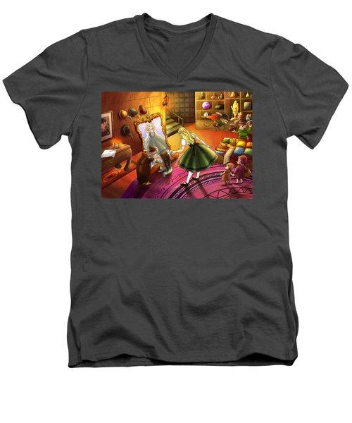 The Kakuna Haberdashery Men's V-Neck T-Shirt