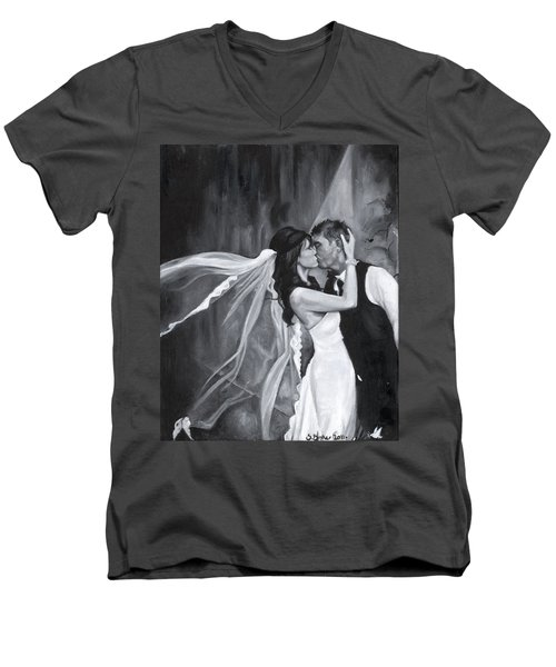 The Kiss Men's V-Neck T-Shirt