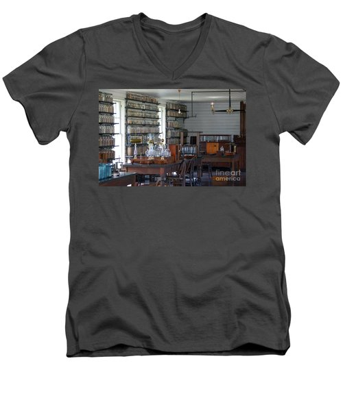 The Laboratory Men's V-Neck T-Shirt by Patrick Shupert
