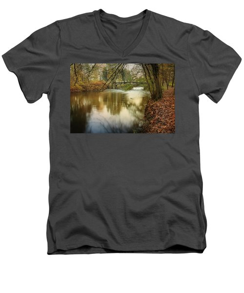 The Lambro River Men's V-Neck T-Shirt