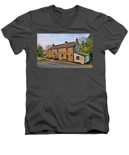 The Lamorna Wink Men's V-Neck T-Shirt
