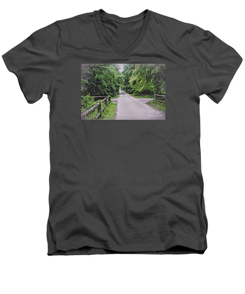 The Last Path Men's V-Neck T-Shirt