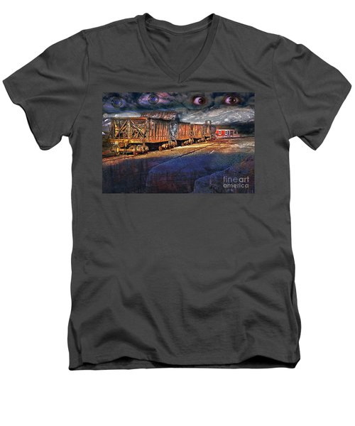 The Last Shipment Men's V-Neck T-Shirt