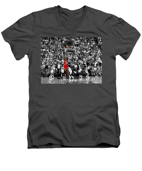 The Last Shot 1 Men's V-Neck T-Shirt