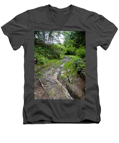 The Ledge Point Trail Men's V-Neck T-Shirt