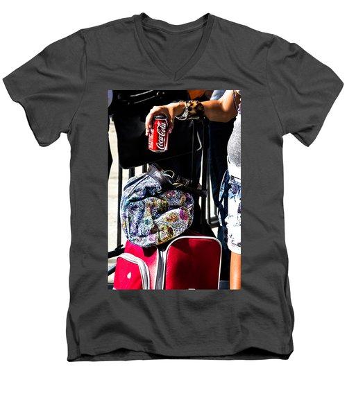 The Life Force Men's V-Neck T-Shirt
