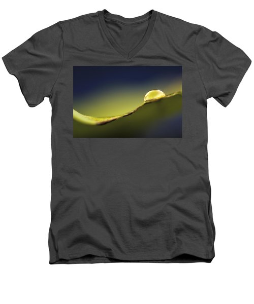 The Light Inside..  Let It Glow Men's V-Neck T-Shirt