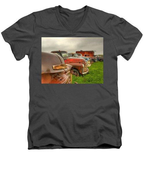 The Line Up 1 Men's V-Neck T-Shirt
