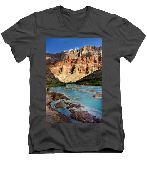 The Little Colorado  Men's V-Neck T-Shirt