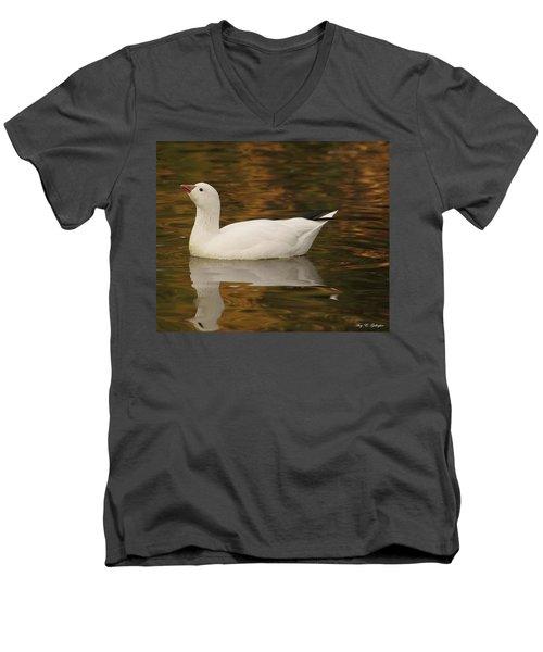 The Lovely Snow Men's V-Neck T-Shirt