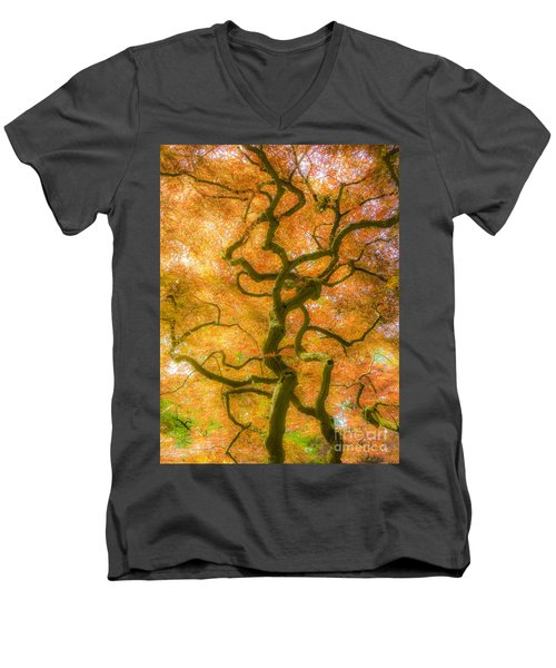 The Magic Forest-15 Men's V-Neck T-Shirt