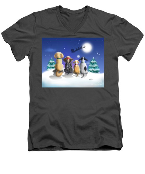 The Magical Night Men's V-Neck T-Shirt