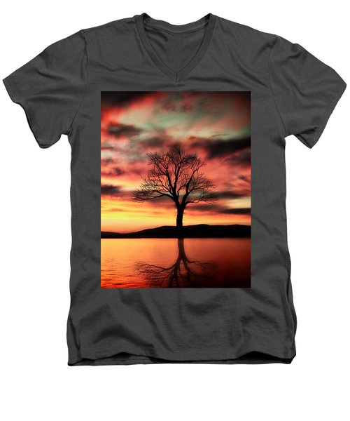 The Memory Tree Men's V-Neck T-Shirt