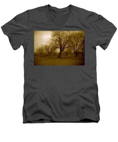 The Midnight Sky Men's V-Neck T-Shirt