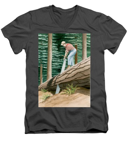The Misery Whip Men's V-Neck T-Shirt