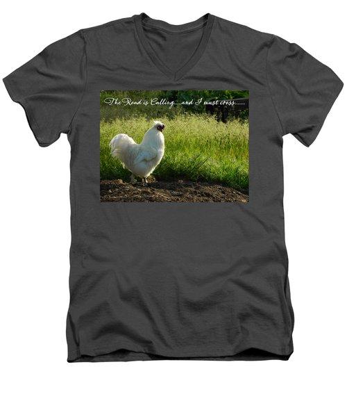 The Mystery Is Solved Men's V-Neck T-Shirt