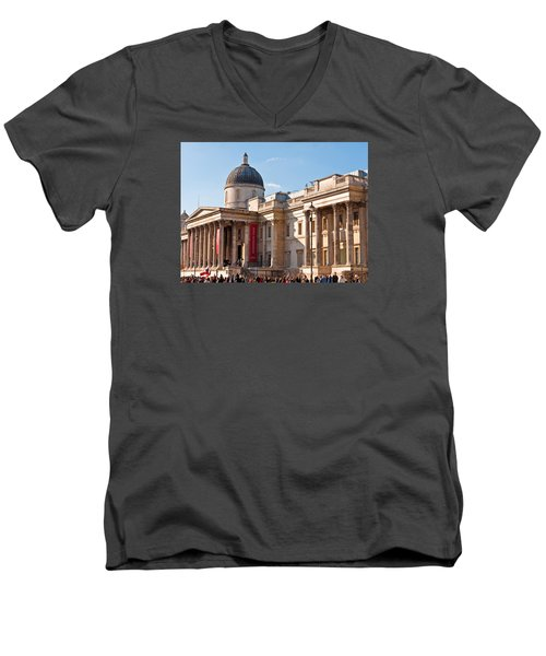 The National Gallery London Men's V-Neck T-Shirt