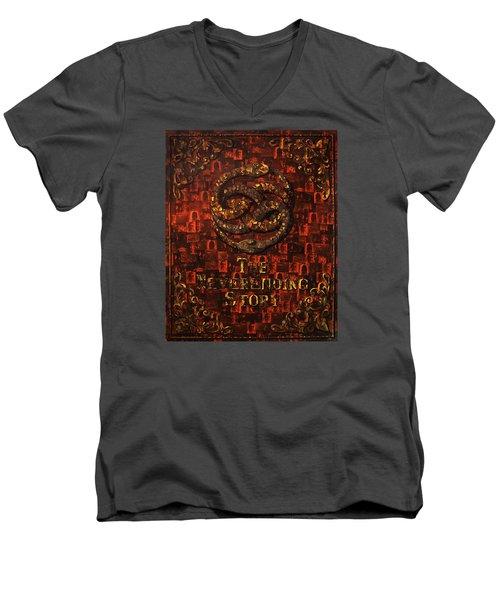 The Neverending Story Men's V-Neck T-Shirt