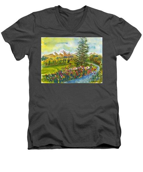 The Ninth Hole Men's V-Neck T-Shirt
