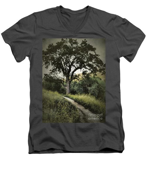 The Old Chumash Trail Men's V-Neck T-Shirt